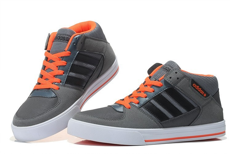finest selection 19bc9 c3f12 ... Promociones de 2016 Adidas NEO SKNEO Grinder Leisure Hombres- Carbon  Gris Negro Orange ...