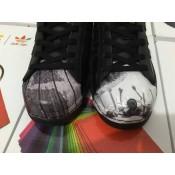2016 Especial Adidas Originals by Originals Jeremy Scott JS Wings 2.0 Cuero blanco Negro,tenis adidas outlet,ropa running adidas,barato