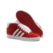 2016 Wild Adidas Neo Suede High Tops rojo blanco Sneakers Hombre Mujer Zapatos,adidas negras enteras,adidas schuhe,lujoso