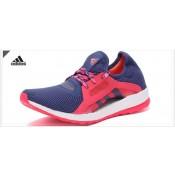 Promociones de 2016 adidas Pure boost X Shock azul/Halo azul/Shock RosadosMujer zapatos para correr,adidas chandal,chaqueta adidas retro,online baratos españa