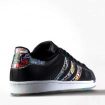 new concept 2255c e2189 2016 Empleo Adidas Superstar Std Lux XsTrainers Negro blanco,adidas  superstar negras,bambas adidas