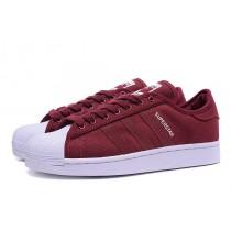 En 2016 los precios Adidas Superstar II Wine rojo/blanco Jeans Unisex trainers,zapatos adidas outlet,adidas rosa,catalogo en españa