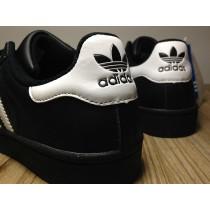 2016 Mejor Adidas Superstar II Negro blanco Hombre TrainerssZapatos casualeses,adidas running,adidas baratas blancas,mejores