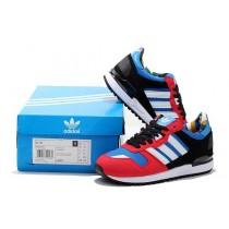 2016 Fit May adidas Originals ZX 750 Unisex Training zapatos para correr azul/blanco,adidas negras y rojas,adidas negras,Madrid tiendas