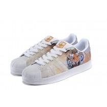 La introducción en 2016 Adidas Superstar M Skateboard Zapatos Animals print tiger Hombre casuales Trainerss,zapatos adidas blancos para,zapatos adidas nuevos,Madrid ocio