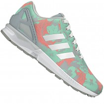 2016 Retro adidas ZX Flux MulticolorsOriginals Hombre Training zapatos para correr Core Negro / blanco / Multicolor,bambas adidas superstar,zapatos adidas ecuador,Más barato