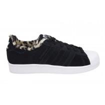 Versión 2016 Adidas Originals SuperstarsW Leopard Core Negro,adidas zapatillas,zapatos adidas blancos,muy buena
