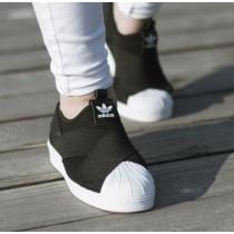 sneakers for cheap dfb88 77f65 Promociones de 2016 Adidas Originals Superstar Slip OnsNegro blanco Unisex  Sneakers Zapatos,reloj adidas