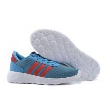 Promociones de 2016 Hombre Adidas NEO Lite Racerszapatos para correr casuales Trainers Solar azul Campus rojo,ropa adidas barata online,zapatos adidas baratos,Madrid online