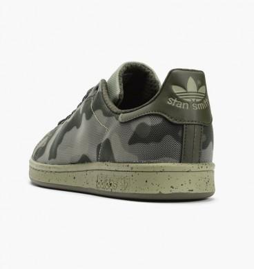 Más 2016 Hombre Adidas Stan Smith Camo Print Mesh Zapatos verde/Negro/Night Cargos,ropa golf adidas outlet,bambas adidas baratas,más de moda