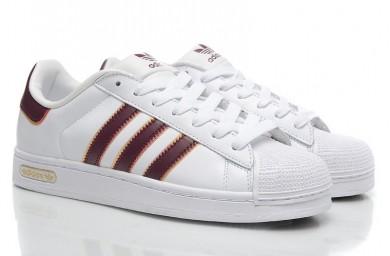 2016 Piel Adidas Originals Superstar Foundation Junior Sneakers Negro blancos,zapatillas adidas blancas,adidas superstar baratas,estándar