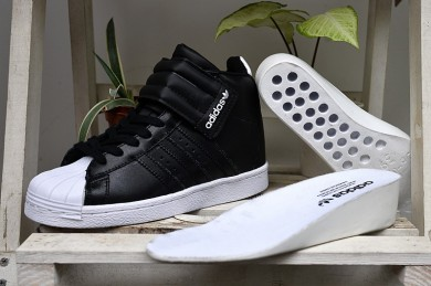 2016 Urban Adidas Superstar Up Strap Wshigh tops mujeres trainers Negro,adidas sale,ropa running adidas online,en españa outlet