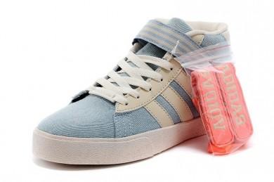 2016 Valor Unisex Adidas Neo Daily Cst Mid JeanssHigh Tops azul blanco Trainers,relojes adidas originals,adidas schuhe,vigoroso