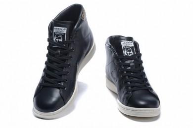 2016 Perfecto adidas Stan Smith Zapatos blanco/Core Negro Unisex Trainers Zapatos casualeses Originalss,tenis adidas outlet,chaqueta adidas retro,españa online