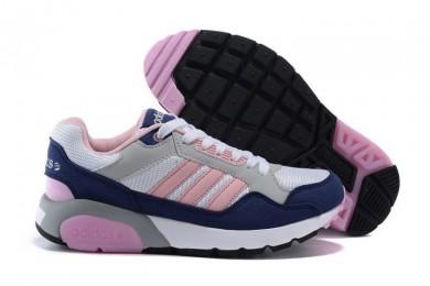 La introducción en 2016 mujeres Adidas NEO Run9TIS Mesh casuales zapatos para corrersSneakers blanco / Light Rosado / College Púrpura,zapatos golf adidas outlet,zapatillas adidas baratas,online baratas