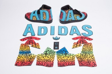 2016 Jeans adidas Originals Superstar MR. Supershell Hombre Mujer trainers Artwork Girl Pig MR. Core Bl Negro Cueros,ropa adidas barata,adidas chandal real madrid,respetable