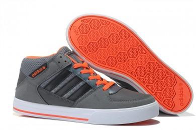 Promociones de 2016 Adidas NEO SKNEO Grinder Leisure Hombres- Carbon Gris/Negro/Orange,zapatillas adidas superstar,adidas sale,creativo en españa