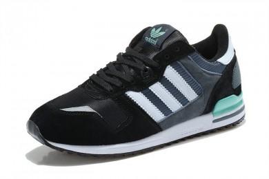 online store 0b828 970f2 En 2016 Azulejos Adidas Originals ZX 700 Zapatos Negro blanco verdesUnisex  trainers,ropa adidas,