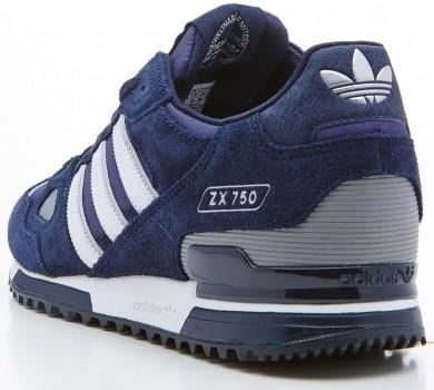 Promociones de 2016 Adidas Originals ZX 750 Hombre ZapatossArmada Suede Running Sneakers,adidas rosa palo,ropa adidas trail running,comprar baratos