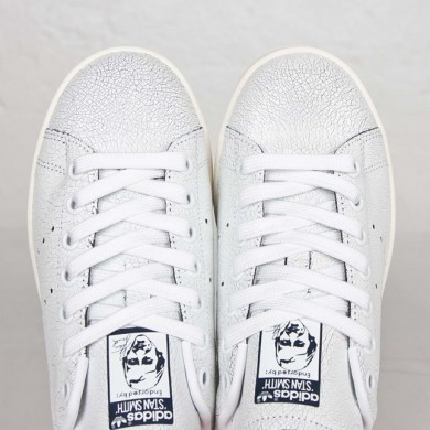 outlet store 0eb1f f6a7c 2016 Wild mujeres Adidas Originals Stan Smith Zapatos Ftwr blanco Collegiate  azul marinos,adidas