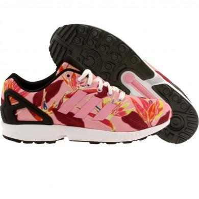 2016 Comercio Adidas Originals ZX Flux mujeres TOKYO PACK CITY LIGHTS zapatos para corrers- Negro blanco,zapatillas adidas,adidas blancas y negras,tema