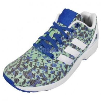 2016 modas Adidas Originals ZX Flux Aqua azul/rojo/Amarillo/blanco Hombre Zapatoss,zapatillas adidas superstar,adidas rosas nmd,alta calidad