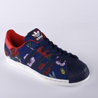 como Adidas Originals SUPERSTAR 80S Rita orasRosas Floral Hombre/mujeres Zapatos casualeses,adidas running 2017,adidas baratas online,brillante